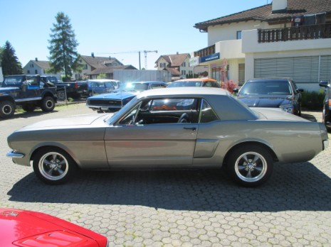 Mustang 1965 sportgarage roman walther for Garage ford romans